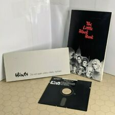 Intrigue! A Mystery in Black & White (Apple II 1986 Spectrum Holobyte) w/ Book
