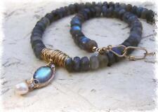 Modeschmuck-Halsketten & -Anhänger im Collier-Stil aus Perlen