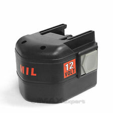 3.0AH 12V 12 VOLT NI-MH Battery for AEG MILWAUKEE 48-11-1967 48-11-1900