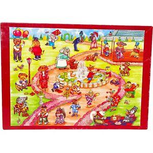 Park Friends Jigsaw Giant Floor Puzzle 65 Pieces Alphabetical Toy Factory VTG 92