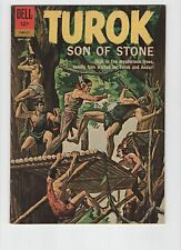 TUROK SON OF STONE # 29 (Dell, 1962) Painted cover, Caveman cover, Very Fine 8.0