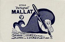 BUVARD / PUBLICITAIRE / STYLO MALLAT