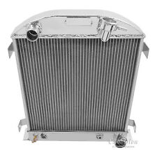 1932 Ford with 3 Inch chop Chevy Config All Alum 2 Row KR Champion Radiator