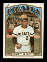 1972 Topps Set Break # 309 Roberto Clemente VG MK *OBGcards*