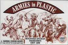 Armies in Plastic 1890 Mounted Afghan Tribesmen 1/32 Scale 54mm cream