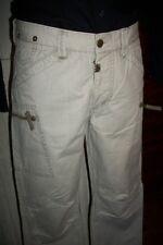 Pantalon AMPLE coton beige épais TIMEZONE ORIS W31 42FR multi poches brodé HP8.
