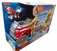Paw Patrol Marshall Ride N Rescue Transforming Fire Truck Vehicle Set