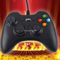 Wired USB Gamepad Controller Joystick Joypad For PC Laptop Computer Black C1MY