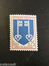 FRANCE 1966 timbre 1469 Armoiries Mont-de-Marsan neuf**