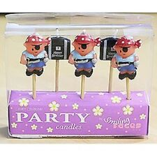 """""""LITTLE PIRATE""""     Lovely Chubblies Pirate Birthday Cake Candles!"""