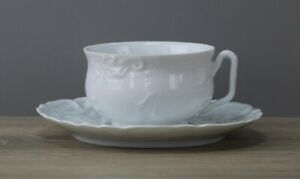 Tharaud Limoges Sevres Nivial Teetasse Tasse + Untertasse Unterteller TOP
