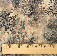 2 Yards Cotton Quilting Fabric Benartex International Browns Tans