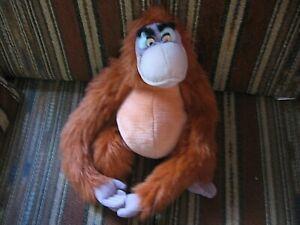 "14"" plush Jungle Book Ape/Monkey Louie, good condition"
