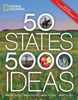 50 STATES, 5,000 IDEAS: Where to Go, When to Go, What to See, (1426216904)
