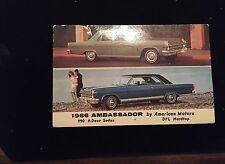1966 Ambassador, 990 4 door Sedan, Postcard