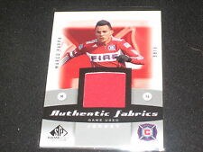MARCO PAPPA SOCCER GOODWIN AUTHENTIC GAME USED MEMORABILIA CERTIFIED CARD