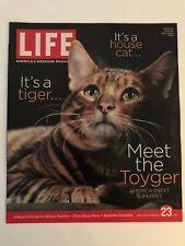 Toyger-Super Pet Life Magazine Weekend Supplement, February 23, 2007