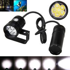 Underwater 200m 18000lm 6x XM-L2 LED Scuba Diving Flashlight Fishing Torch Light