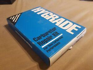 New Hygrade 1553 Carburetor Repair Kit For Chevy C10 C20 C30 K10 K20 K30 C1500 C
