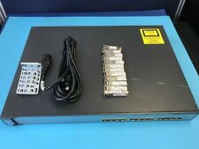 WS-C3750G-12S-S Cisco Fibre Switch with 12 SFP's