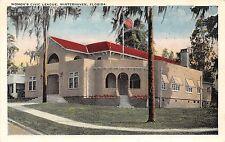 B89/ Winterhaven Florida Fl Postcard c1910 Women's Civic League Building