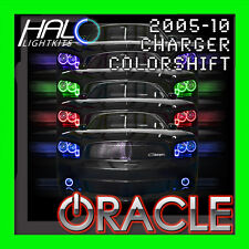 2006-2010 ORACLE DODGE CHARGER COLORSHIFT LED HEADLIGHT+FOG HALO RINGS KIT