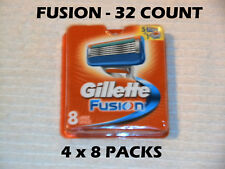 Gillette Fusion - 32 Count (4 x 8 Packs)