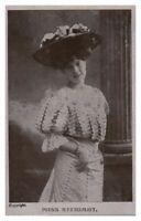 Antique printed postcard Miss Stewart actress singer stage theatre