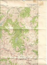 1948(1957) Mt. Goddard, California USGS Topographic Map, 15 minute series