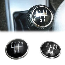 5 Speed Gear Shift Knob Stick Emblem Badge Cap Cover For VW Golf Polo Bora Jetta