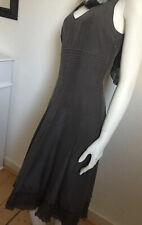 Traumhaftes Designer Seidenkleid Blacky Dress Berlin 100% dicke Seide