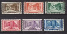 Vatican 1939 Archaelogical Congress set 6 SG63-68 MINT very light hinge
