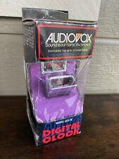 Vintage Audiovox Auto Digital Clock Automobile Car NOS LED-76