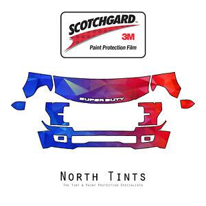 Ford F250 F350 SuperDuty 18-2019 PreCut 3M Scotchgard Paint Protection Clear Bra