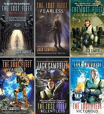 Lost Fleet Series Collection Set Books 1-6 Mass Market Paperback Jack Campbell
