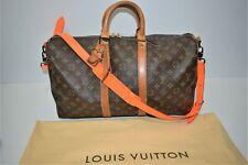 Louis Vuitton, sac week-end Bandoulière Keepall 45, en toile enduite monogram