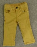Boys Baby Gap Jeans Ages 3-6 Months mustard
