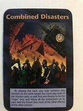 """Illuminati New World Order """"Combined Disasters"""" Card Game MINT"""