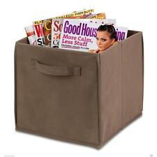 Honey Can Do Kids Fabric Storage Bin / Organizers, Light Brown