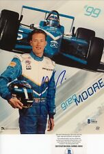 Greg Moore CART Indy 500 Signed Autographed 8x10 Glossy Photo Beckett BAS