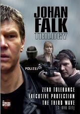 Johan Falk Trilogy [3 Discs] (2013, DVD NEUF)3 DISC SET