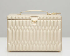 WOLF Caroline Champagne Extra Large Jewelry Case 329546 + FREE US SHIPPING