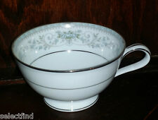 NORTAKE FINE CHINA COLBURN WIDE ROUND TEA COFFEE CUP W/ PLATINUM TRIM AND VERGE