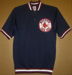 BOSTON RED SOX MLB SHORT SLEEVED PULLOVER - Size Medium