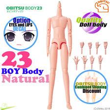 Cuerpo obitsu 23BD-M01N 23 Chico natural Azone pure neemo flexión Blythe Doll NUEVO
