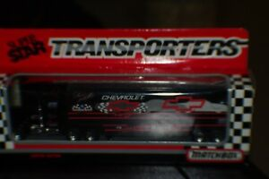 MATCHBOX 1992 DALE EARNHARDT W/BOWTIE TRANSPORTER HAULER MIB