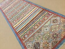 "2'.8"" X 9'.8"" Multicolor Oushak Persian Oriental Rug Runner Hand Knotted Wool"