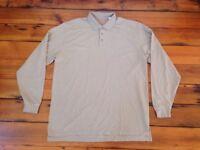 "5.11 Tactical Series Long Sleeve Polo Collar Henley Cotton Shirt XL 54"" Chest"
