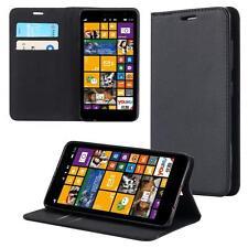 Custodia per Microsoft Lumia 950 XL Cover Case Portafoglio Wallet Etui Nero