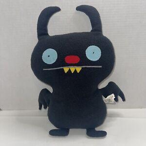 "16"" Ugly Doll Ninja Batty Shogun Plush 2009 Stuffed Toy Black"